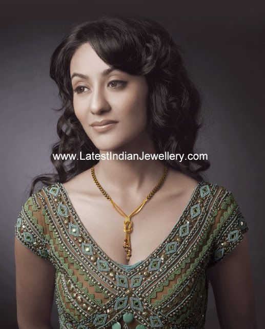Latest Black Beads Mangalsutra Design | Latest Indian Jewellery Designs