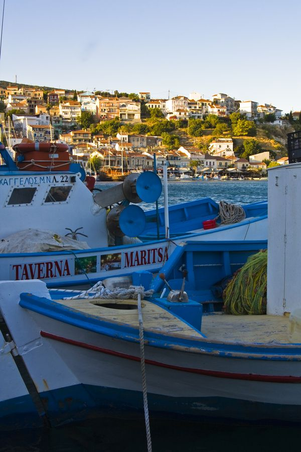 Samos Island Harbour, Greece