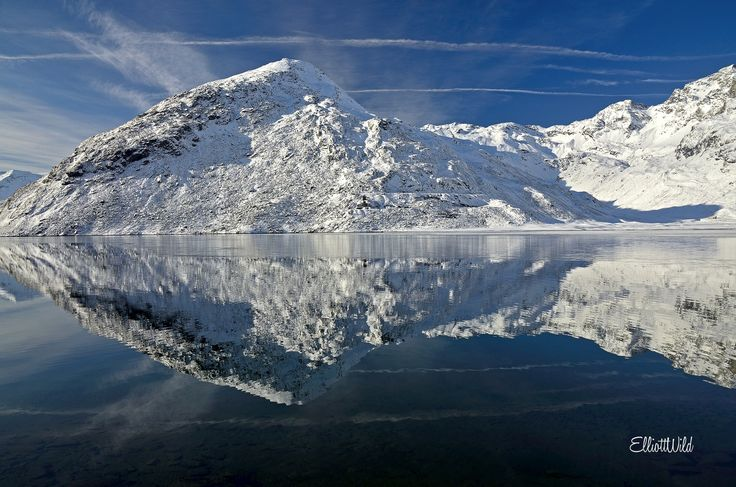 Photograph Montespluga mirror by ElliottWild on 500px