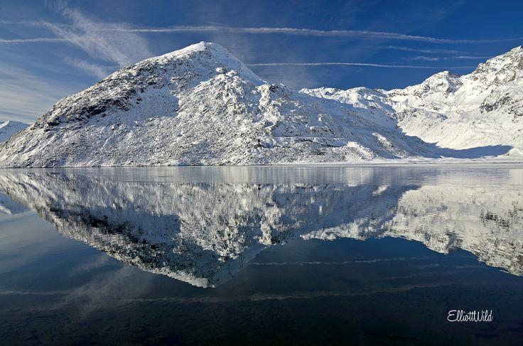 Photograph Montespluga mirror by ElliottWild on 500px
