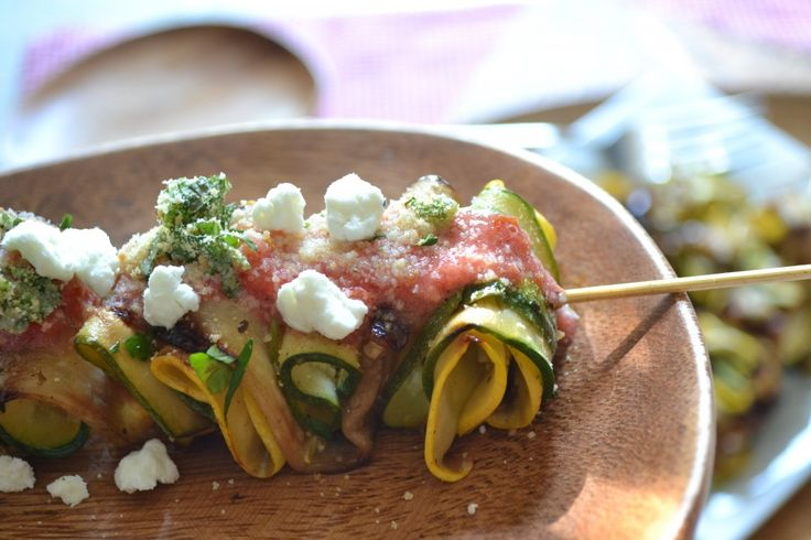 Fun, yet still Fancy Finger Food: Grilled Deconstructed Ratatouille Skewers