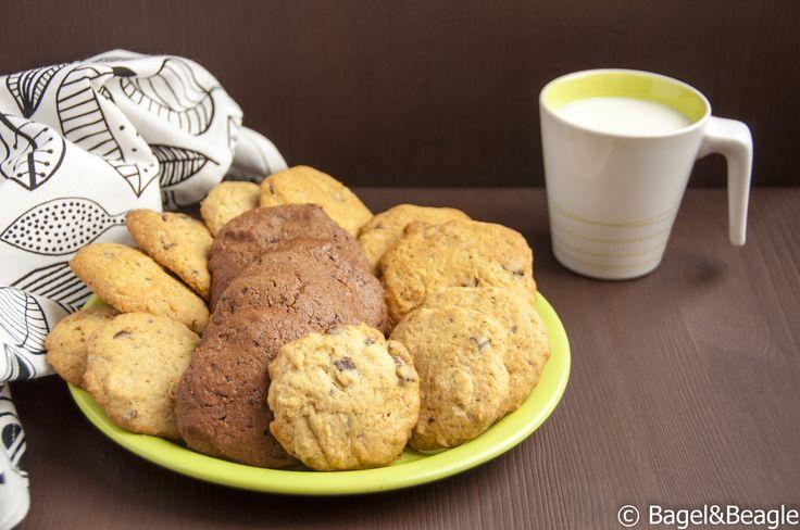 Очень вкусное песочное печенье с шоколадной крошкой Classic chocolate chips cookies