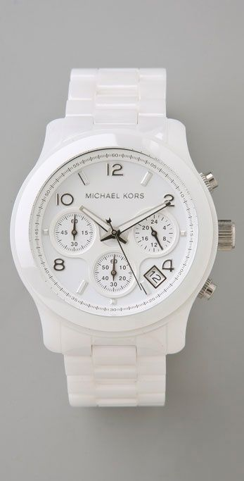 Michael Kors Ceramic Watch                                                                                                                                                                                 More