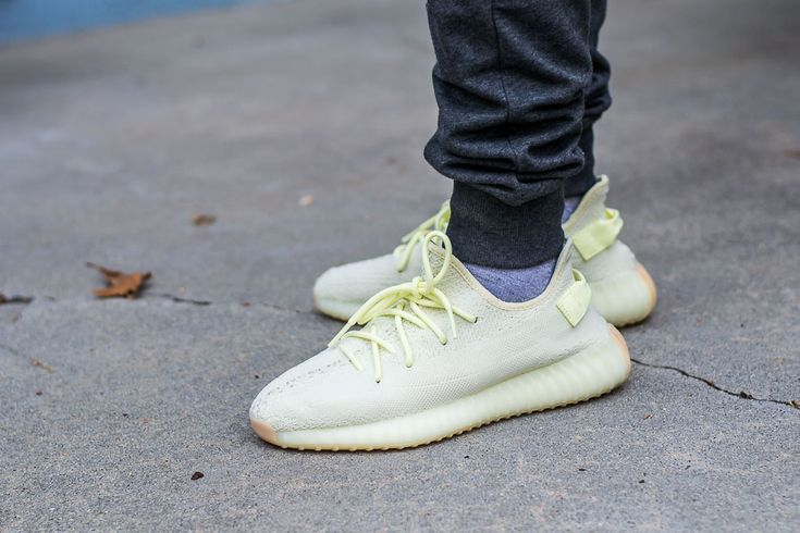 Adidas Yeezy Boost 350 V2 Butter On Feet Sneaker Review   Adidas ...