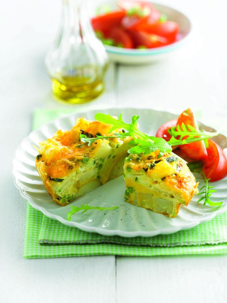 Recepten - Ovengebakken aardappeltortilla