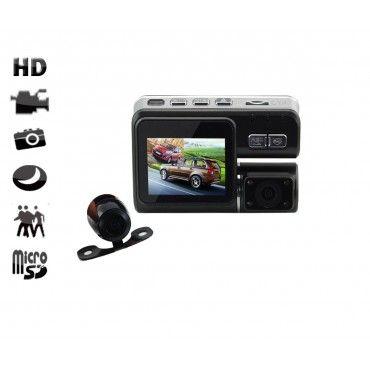 Camera auto dubla 3100AV la iUni.ro - profita de calitatea video hd! Descopera aici detalii pentru camera auto dubla 3100AV!