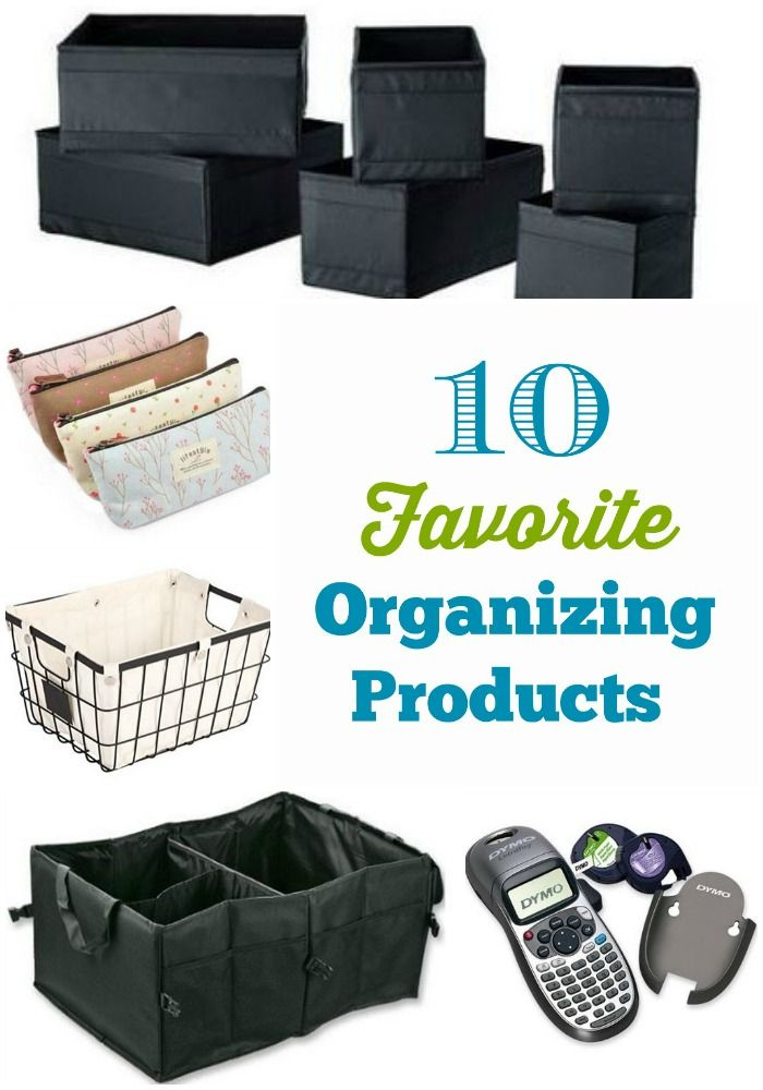 10 favorite organizing products - Organize and Decorate Everything