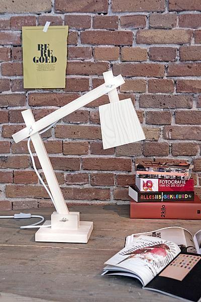 Wooden Muuto lamp