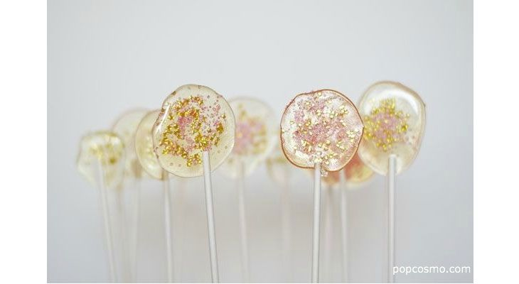 DIY Wedding Favors Winter  | Glitter Lollipops | DIY Wedding Decorations on a Budget