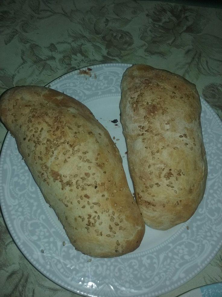 Canzone al forno con prosciutto e mozzarella...by jolie