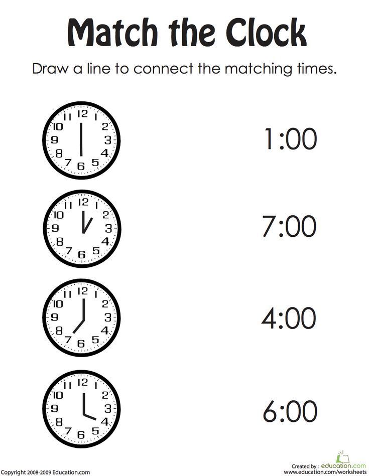 Draw The Correct Time Ii Worksheet Education Com Time Worksheets Clock Worksheets Telling Time Worksheets