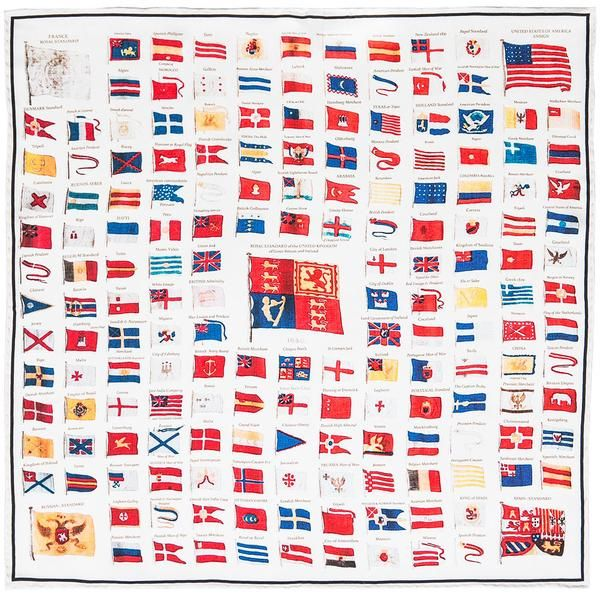 Naval Flags of 1840.