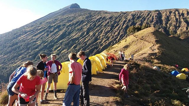 Climbing the Volcano with friendly #mujitrekker team.  Explore Mt. Rinjani 3726m and enjoy healing hot springs 10 minute walk from the Lake #segaraanak .  Join #mujitrekkertrip  Contact:  mujitrekker@gmail.com +6281917774082  #mtrinjani #volcano #Indonesia #hiking #trekking #adventuretime #Lombok #lombokisland #camping #backpacking #backpackers #wanders #wanderlust #traveling #travellust #sembalunvillage #natgeo #natural #nature #amazing #mountaineering #mountaingirls