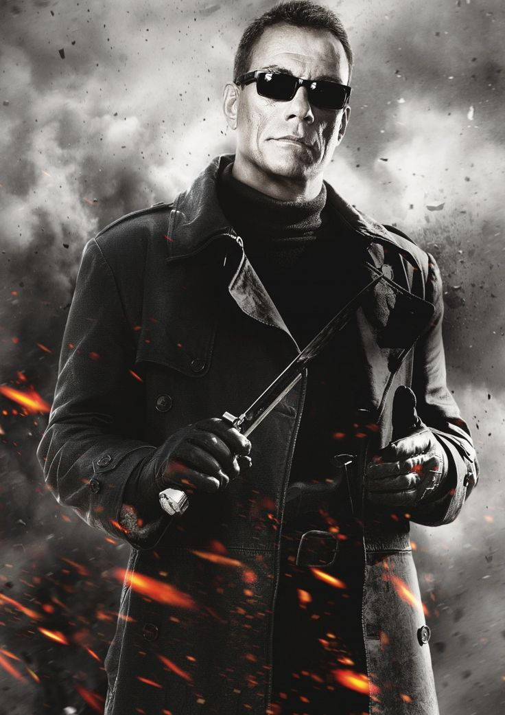 The Expendables 3 or 4 Jean Claude Van Damme for Claude Vilian