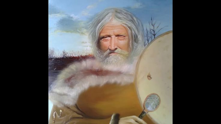 Scythian shaman is the guard of the ancestors