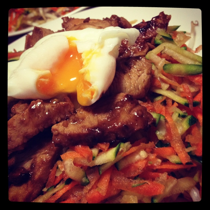 Bimbap! Best 12WBT meal ever - from Michelle Bridges