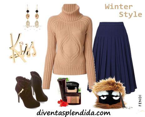 look invernale - Fendi Fur Monster