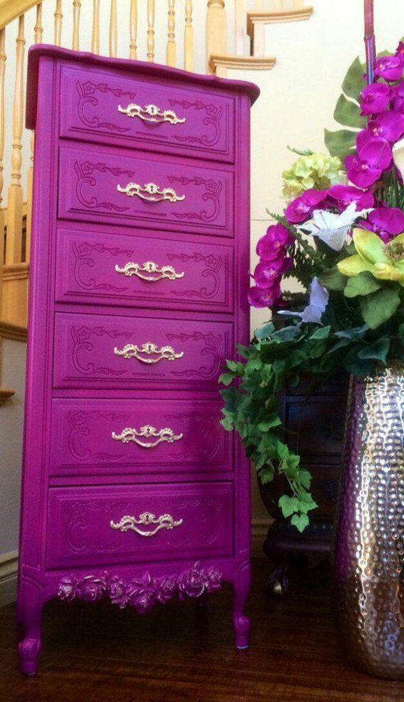 die besten 17 ideen zu bemalte schubladen auf pinterest. Black Bedroom Furniture Sets. Home Design Ideas