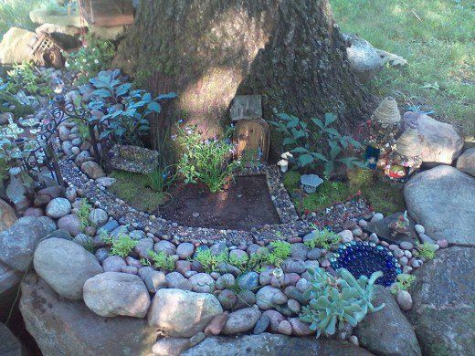 Gnome Tree Stump Home: 91 Best Images About Tree Stump Gnome Homes On Pinterest