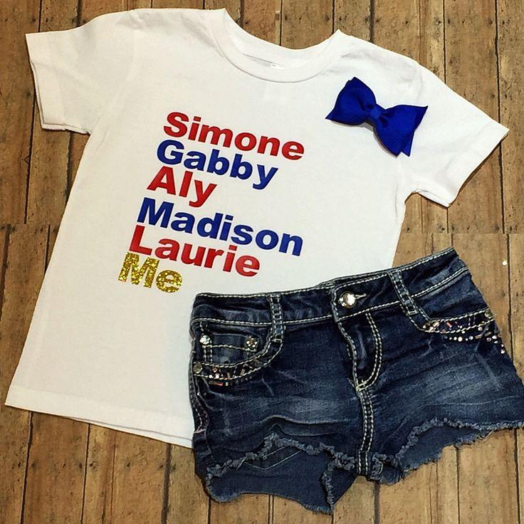 2016 Olympic Gymnastics Shirt Team USA