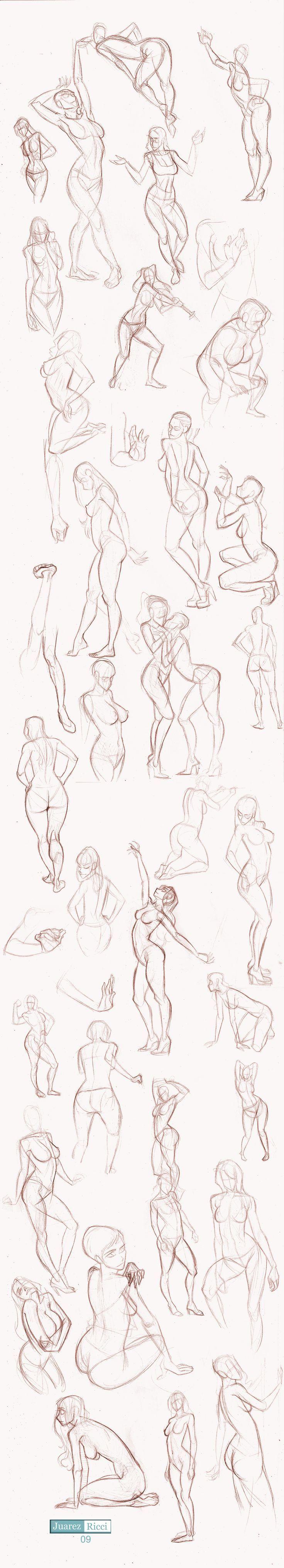 Tuto-Sketch: Estudio de la mujer