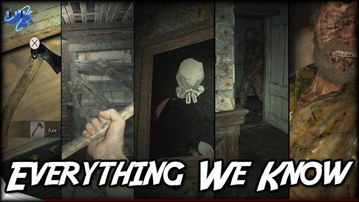 Resident Evil 7 Secrets - Dummy Finger, Axe, Ghosts, All Endings, Everyt...