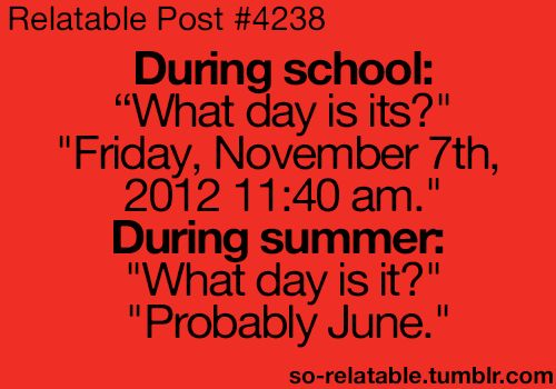 probably June. :)