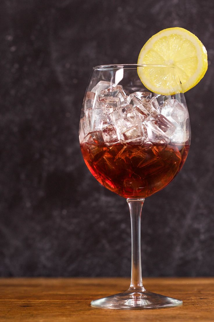 This champagne version of Sloe Gin Fizz is so easy you make it straight in  the