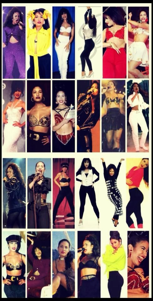 Selena Quintanilla Perez. R.I.P She was a beautiful young women who left this earth to soon. She was an idol and inspiration to many young women.