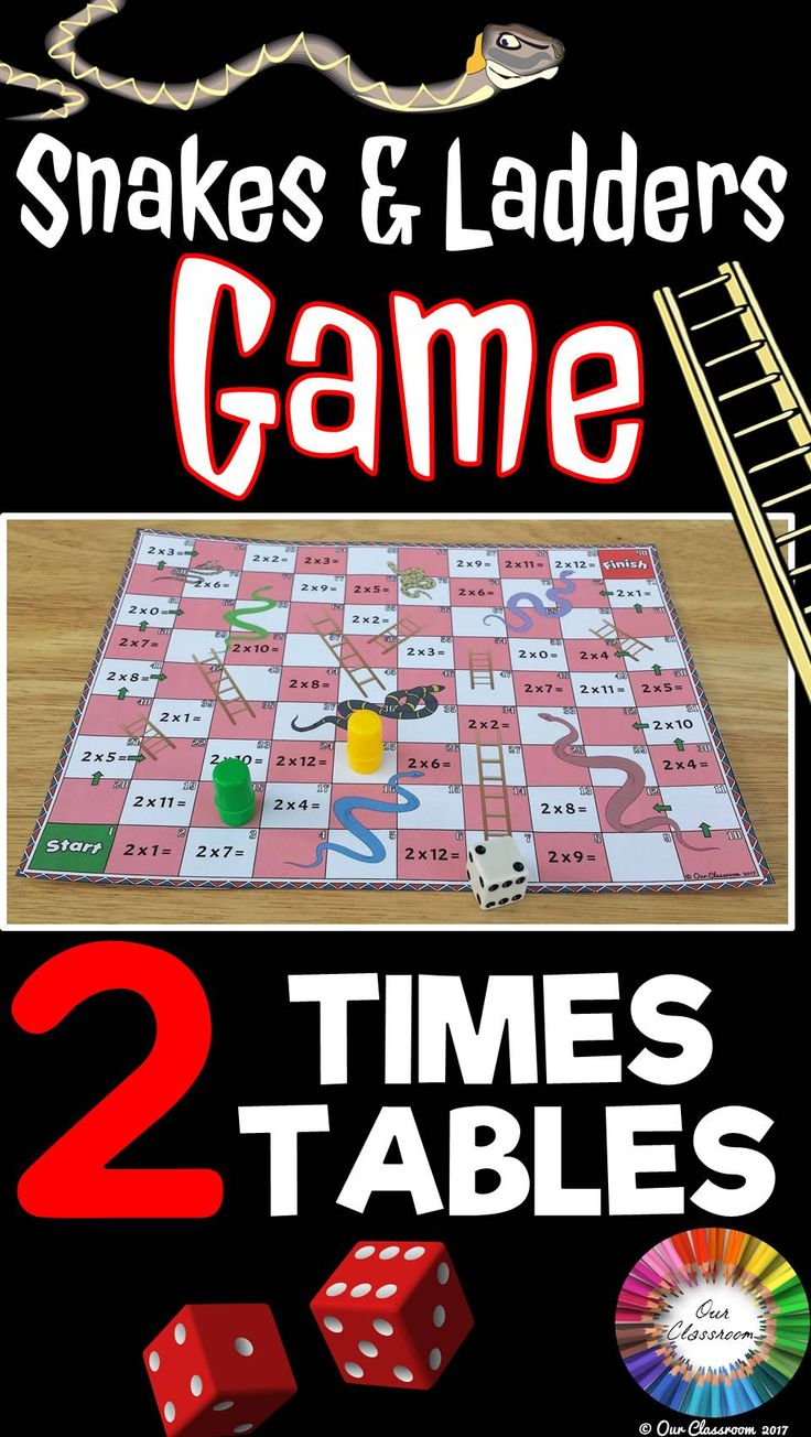 Best 25 2 times table games ideas on pinterest teaching 2 times tables snakes and ladders game gamestrikefo Gallery