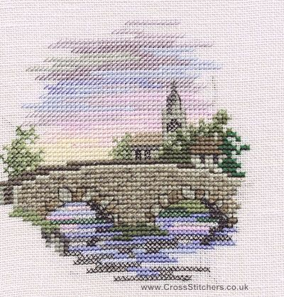 Bridge - Minuets - Cross Stitch Kit from Derwentwater Designs