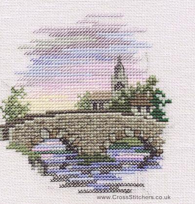 Bridge - Minuets - Cross Stitch Kit from Derwentwater Designs