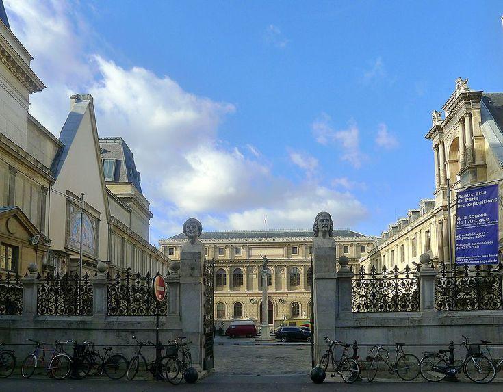 P1070494 Paris VI école nationale supérieure des Beaux-Arts rwk - Rue Bonaparte — Wikipédia