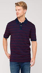 Poloshirt in donkerblauw