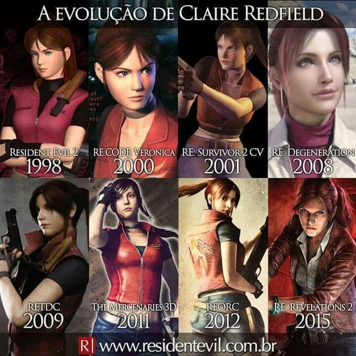 Claire Redfield Resident Evil Herois Filmes