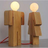 china leverancier nieuw product mensen lichaam vorm houten tafel lamp-inTabel lampen& leeslampen van binnenverlichting op m.dutch.alibaba.com.