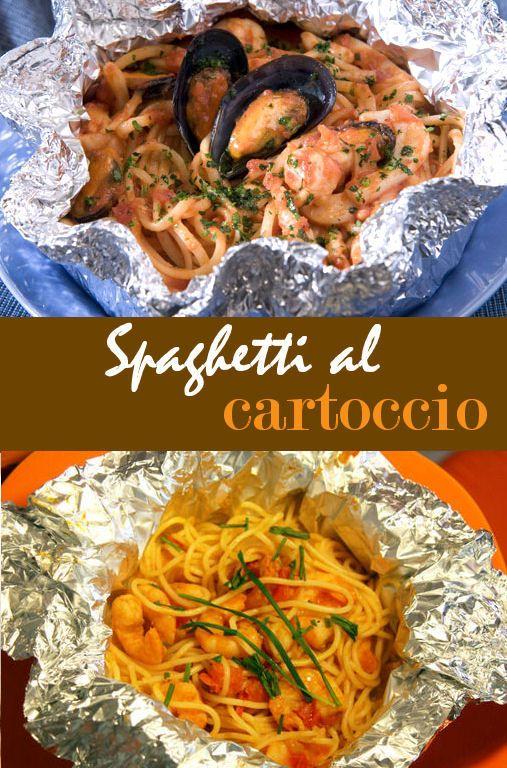 Ricetta spaghetti di mare al cartoccio: la bontà del mare in un piatto