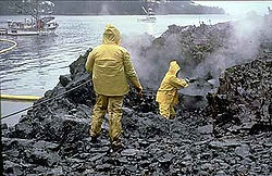 Exxon Valdez oil spil, March 24th, 1989. Wikipedia article.