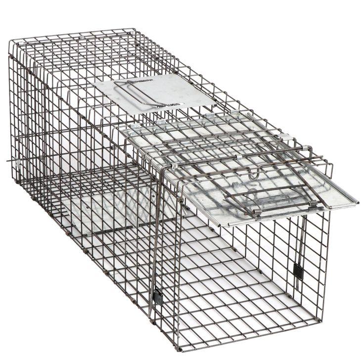 HomGarden Humane Live Animal Trap 32 x 12.5 x 12 Catch