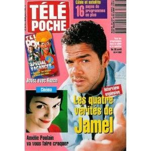 Jamel, une interview explosive : ses 4 vérités, dans Télé Poche n°1837 du 23/04/2001 [couverture et article mis en vente par Presse-Mémoire]