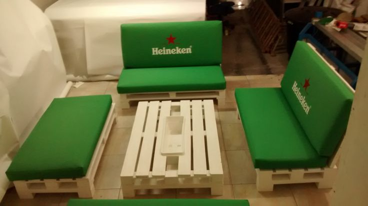 Mobiliario heineken
