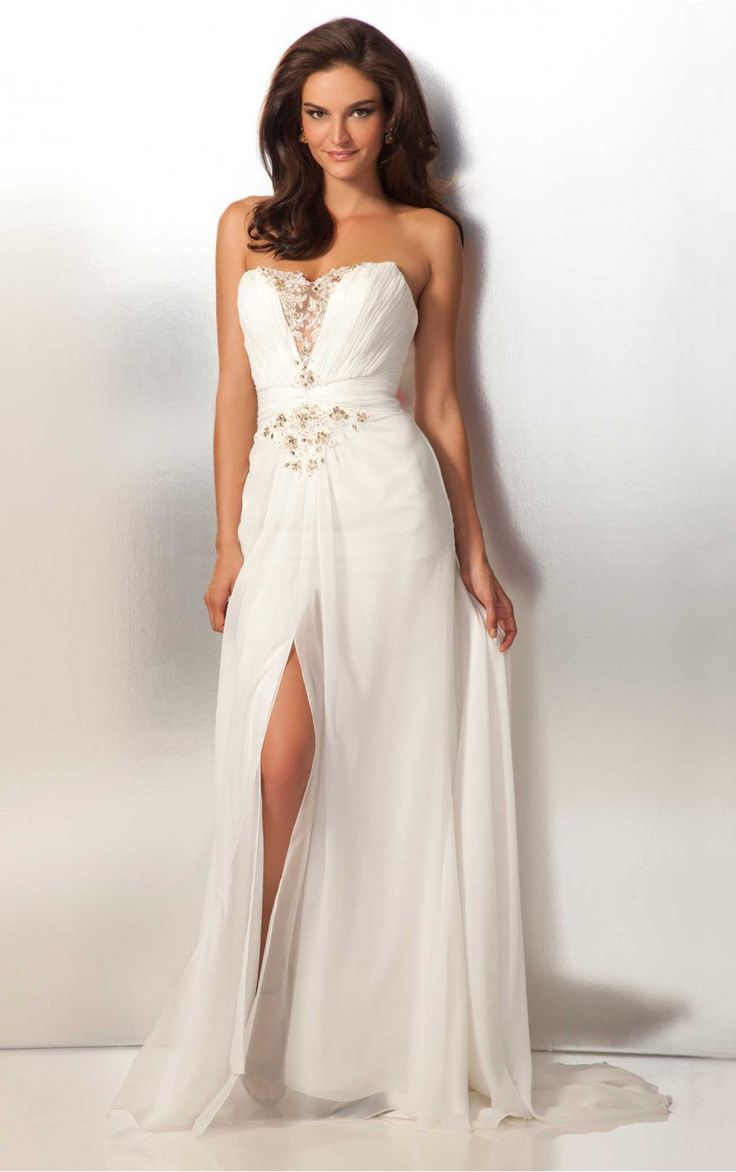 123 best images about Elegant White Dresses on Pinterest | Alibaba ...