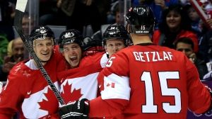 Men's hockey semifinal: Canada 1, U.S. 0 WOOT! Another great championship type game, and now Canada plays Sweden for the GOLD! GO CANADA!