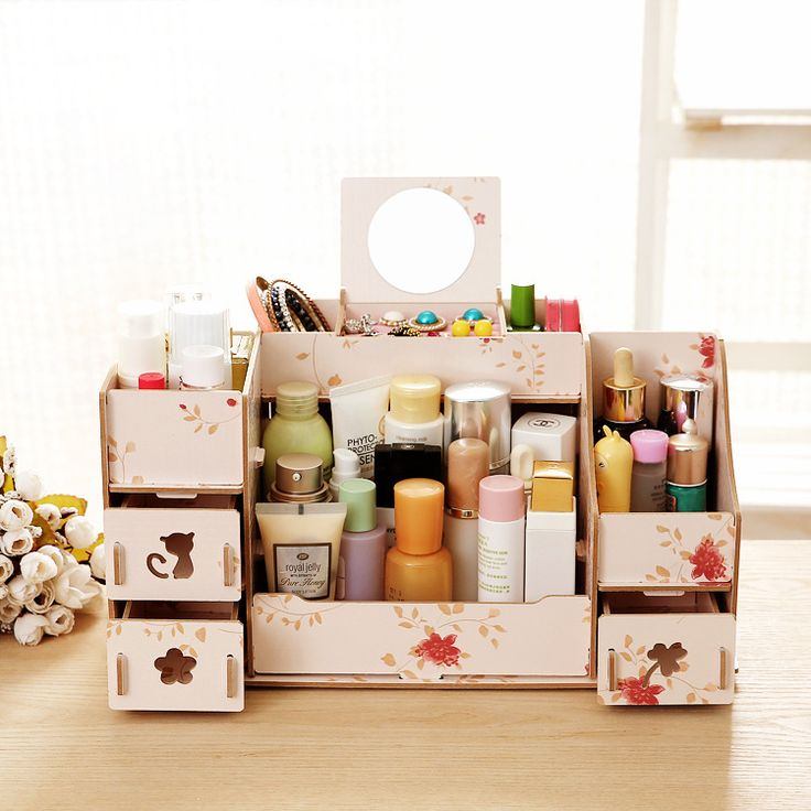 Cheap storage box, Buy Quality cosmetic storage box directly from China wooden storage box Suppliers: start	360 degree rotation round cosmetic storage box ski...US $50.27	NOVEICE Nuoweisi genuine Princess European classic.