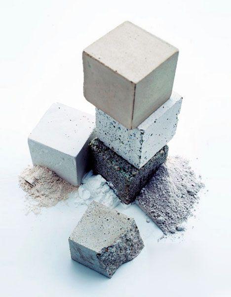 concrete with negative carbon cement
