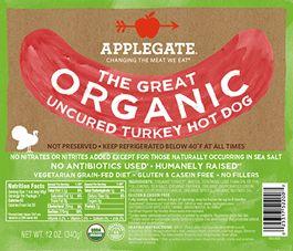 The Great Organic Turkey Hot Dog