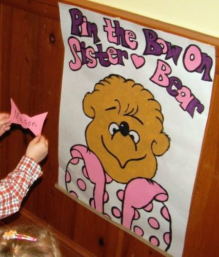 Pin The Bow On Sister Bear