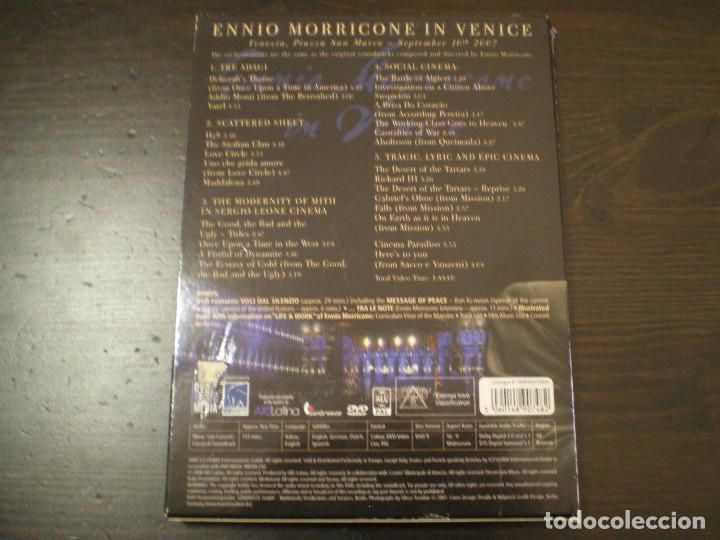 Ennio Morricone In Venice - Live at piazza San Marco - Delux DVD Set