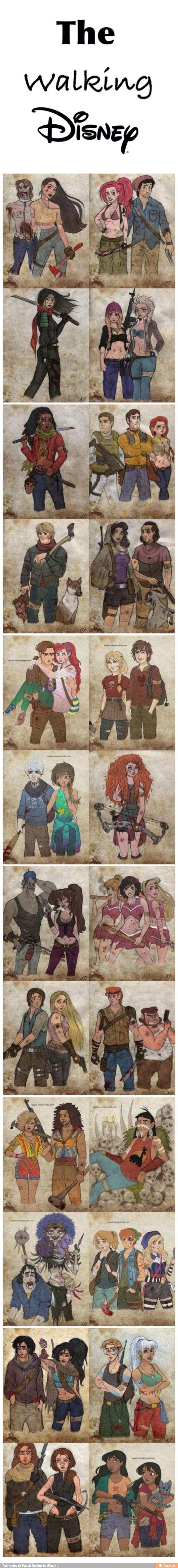 Disney/ Dreamworks The Walking Dead