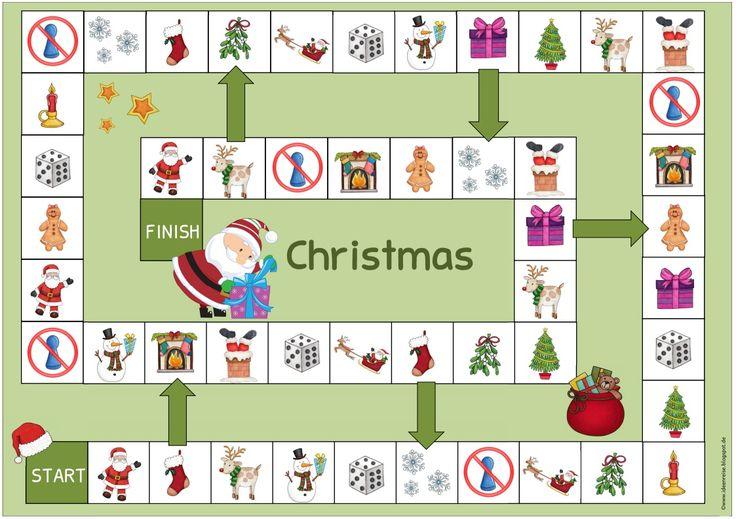 Weihnachtliche Spielfelder    Wie versprochen gibt es nun noch die weihnachtlichen Spielfelder für Englisch und Daz. Das Bildmaterial richt...